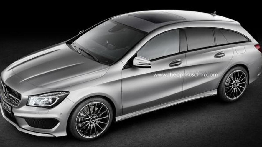 Mercedes-Benz CLA Shooting Brake coming in 2015 - report