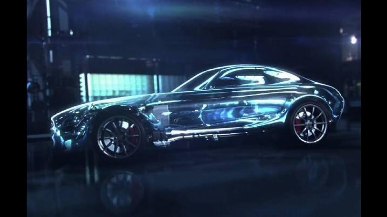 Veja o motor 4.0 twin turbo de 510 cv que equipará o Mercedes AMG GT
