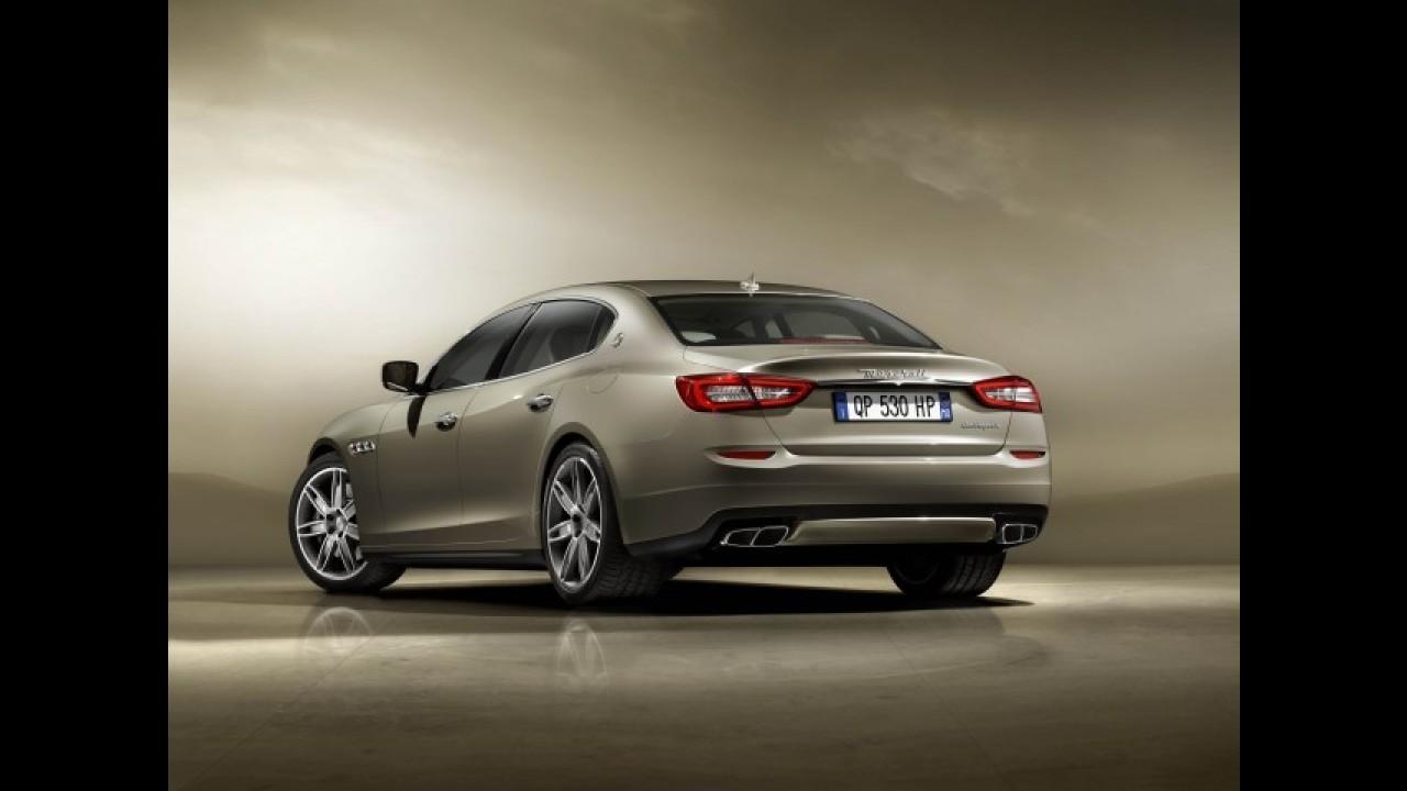Novo Maserati Quattroporte estreia no Brasil por R$ 950 mil