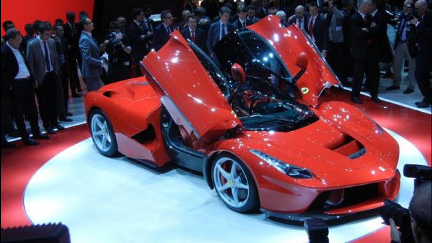 Salone di Ginevra: ovazione per la nuova Ferrari