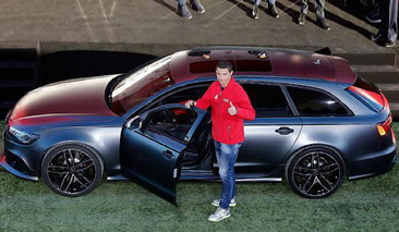 Cristiano Ronaldo and His Cavalcade of Expensive Cars