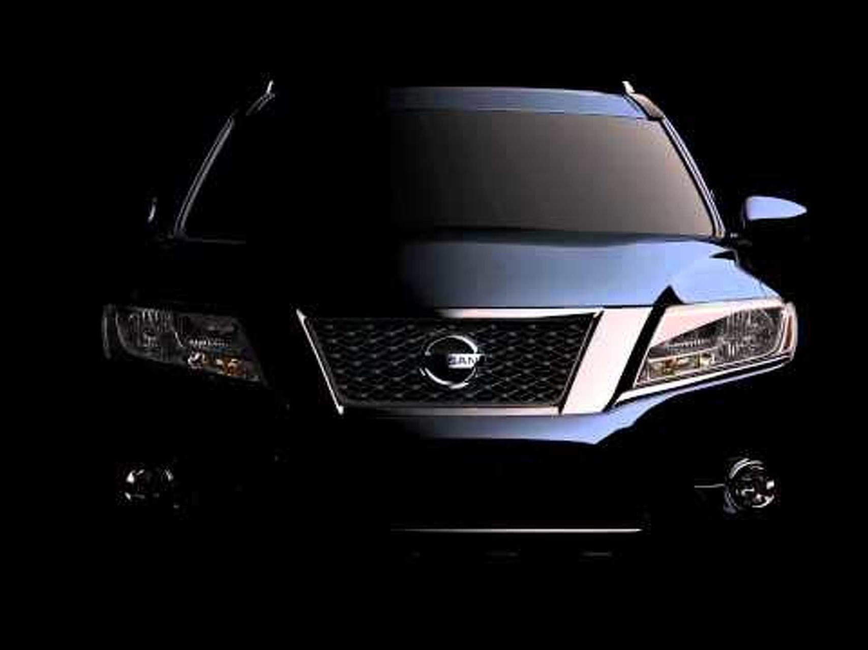 2012 Nissan Pathfinder Concept Front View Teased
