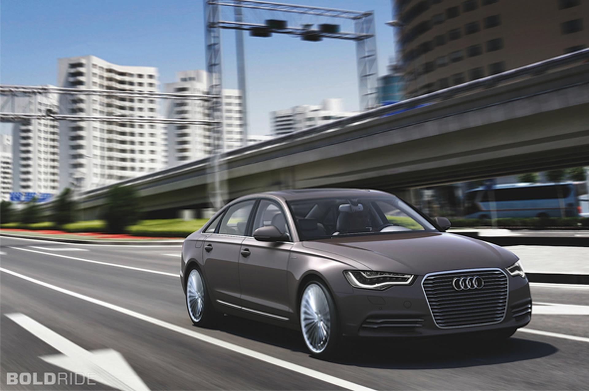 Unveiled: 2012 Audi A6 L e-tron Concept