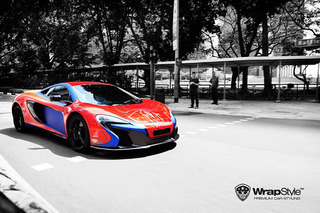 This McLaren 650S Just Got an Amazing Spider-Man Makeover