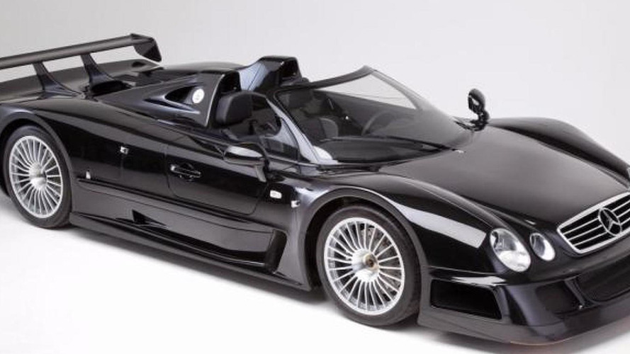 Unused 1999 Mercedes-Benz CLK GTR Roadster heading to auction block