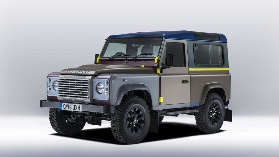 Land Rover & fashion designer Paul Smith unveil a one-off Defender