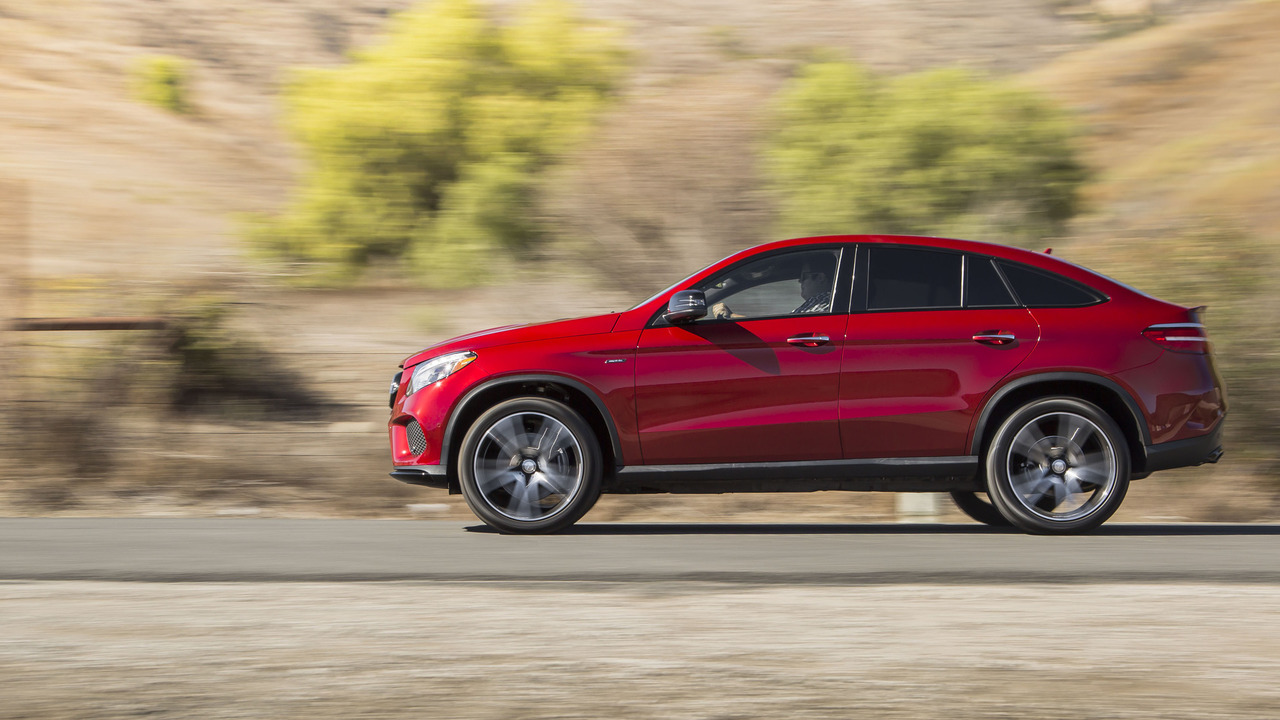 2016 Mercedes-Benz GLE450 Coupe