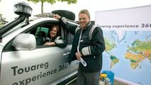 Start of the VW Touareg Experience 360°