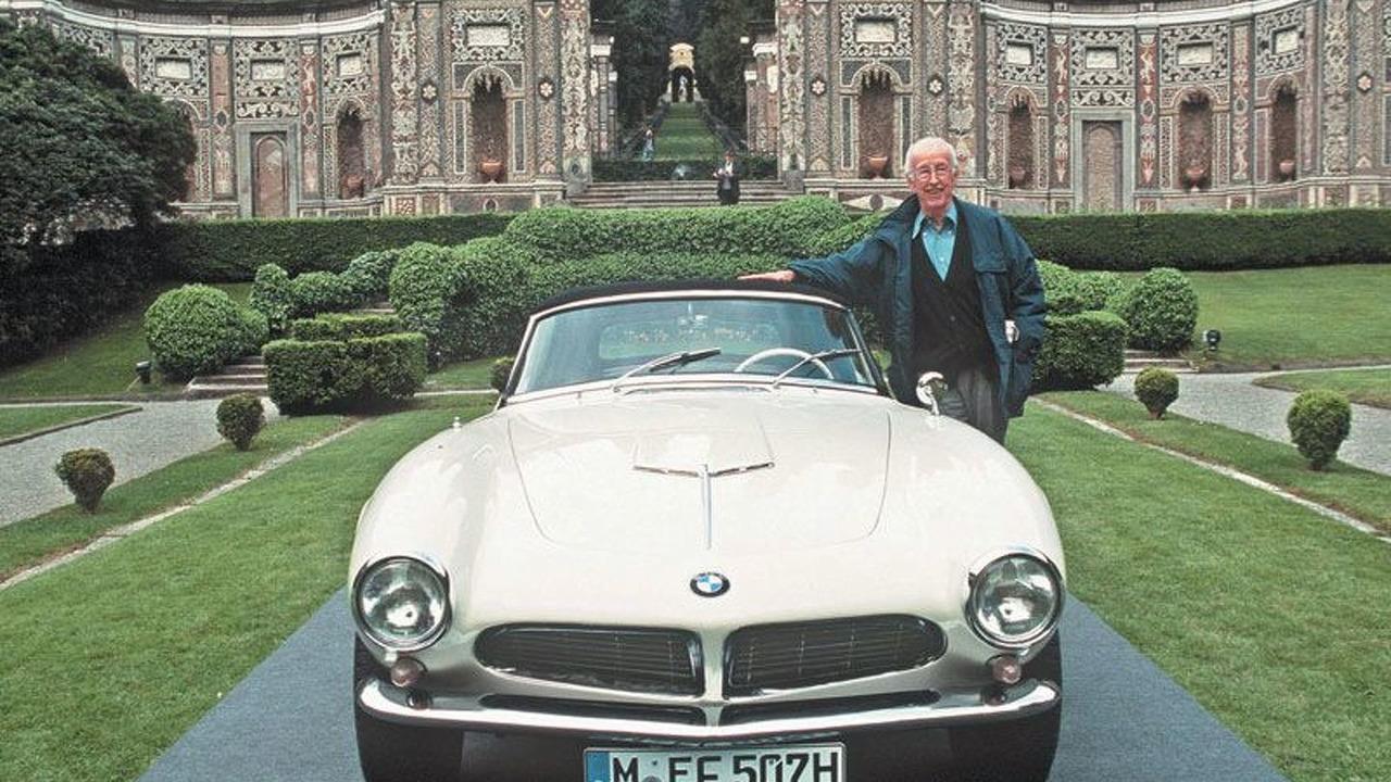 Albrecht Goertz designer of BMW 503 & 507