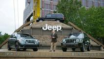 Jeep Compass and Patriot at Frankfurt IAA
