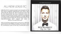 Lexus NAIAS invitation