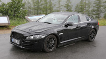 2015 Jaguar XS spied once again with XF body