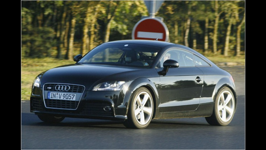 Ungetarnter Erlkönig: Audi TTS Erprobungsfahrzeug
