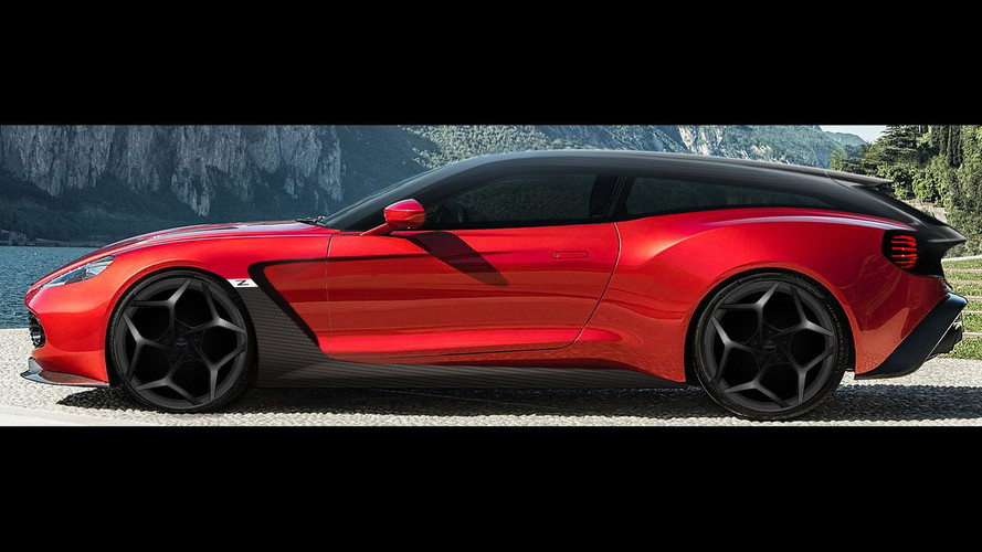 Vanquish Zagato For Sale >> Aston Martin Vanquish Zagato Speedster, Shooting Brake Debut