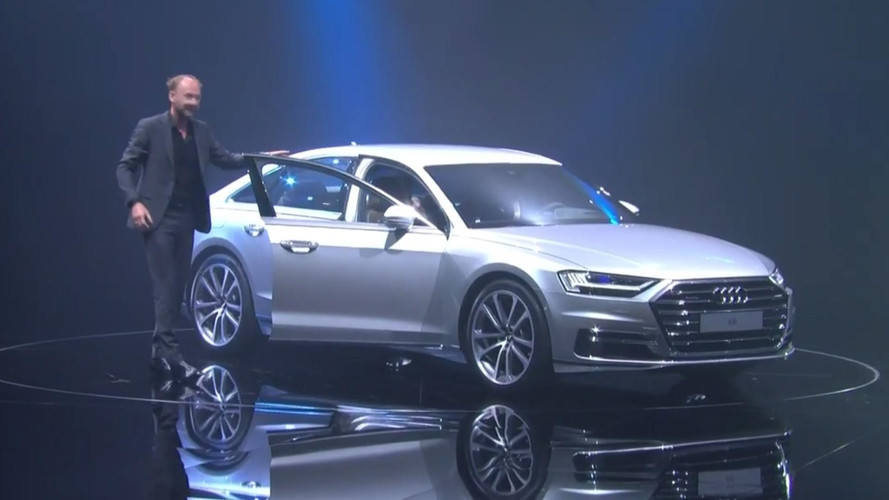 Watch The 2018 Audi A8 Reveal Live