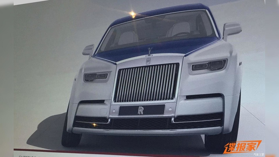 2018 Rolls-Royce Phantom Leaks Via Brochure [UPDATE]