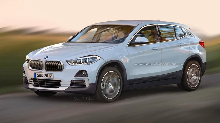 BMW X2 - Projeção e flagra da carroceria definitiva