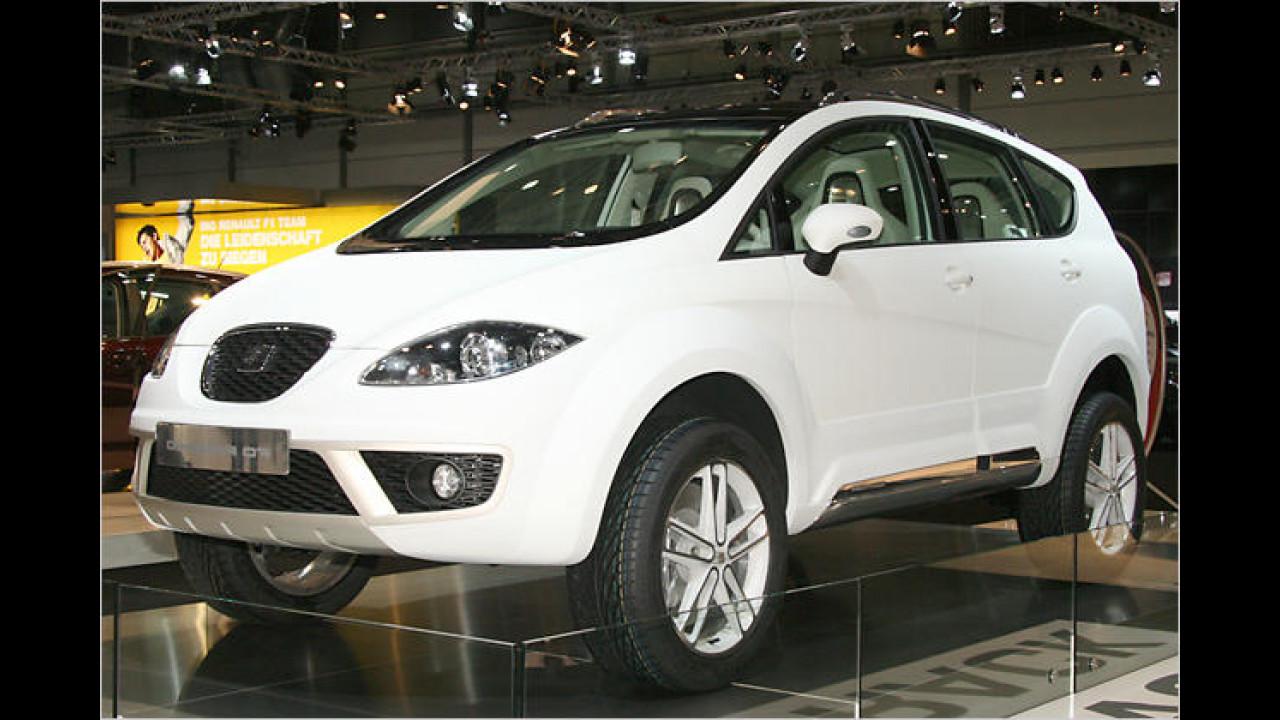 Seats erstes SUV: Altea Freetrack Prototipo