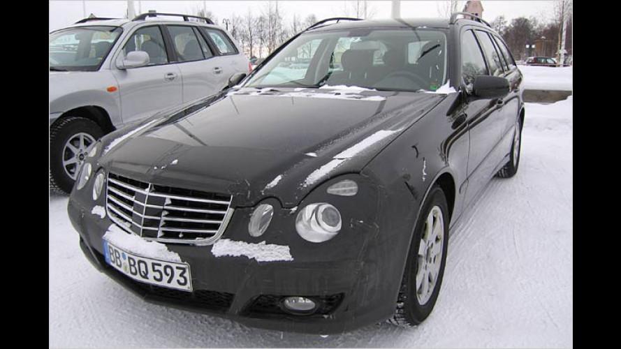Mercedes-Erlkönig erwischt: E-Klasse bekommt ein Facelift