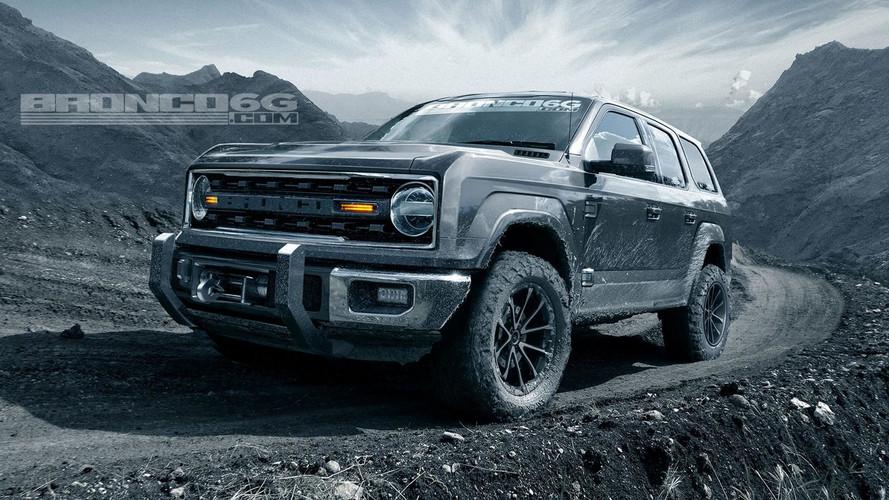 Ford Bronco test edilirken ilk defa yakalandı
