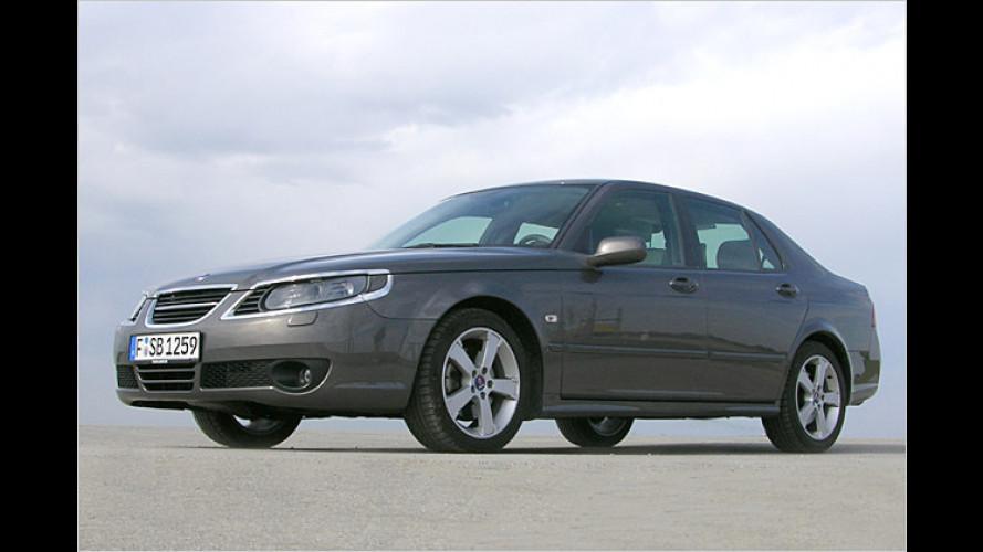 Saab 9-5 Limousine: Flotter Aero mit viel Druck im Bug