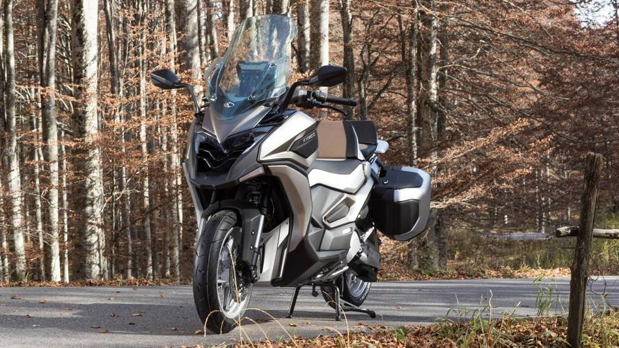 Kymco unveils its new adventure scooter concept