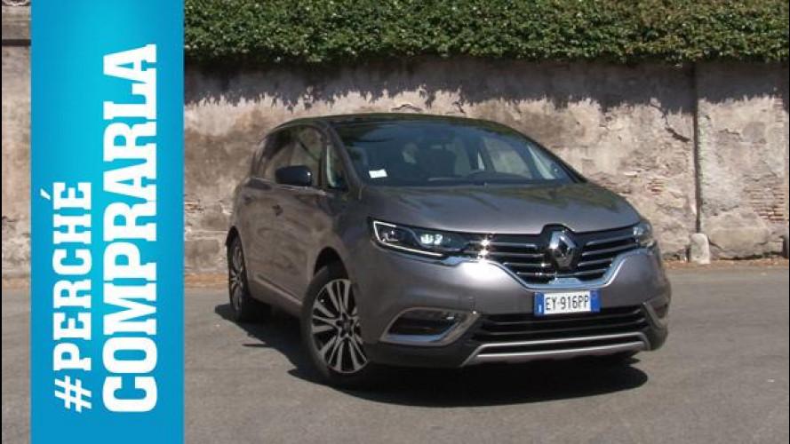 Renault Espace, perché comprarla... e perché no [VIDEO]