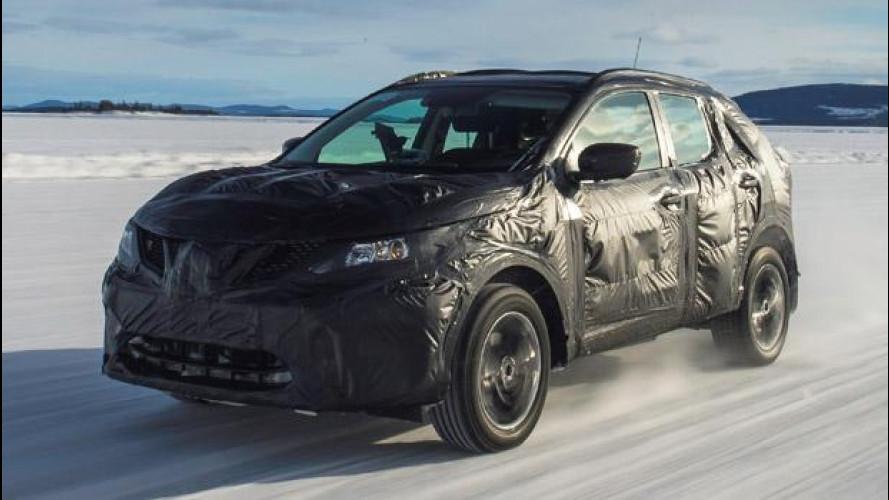 Nuovo Nissan Qashqai, gli ultimi test sul ghiaccio [VIDEO]