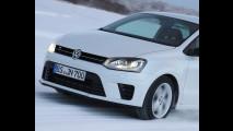 Volkswagen Polo R, i test sulla neve