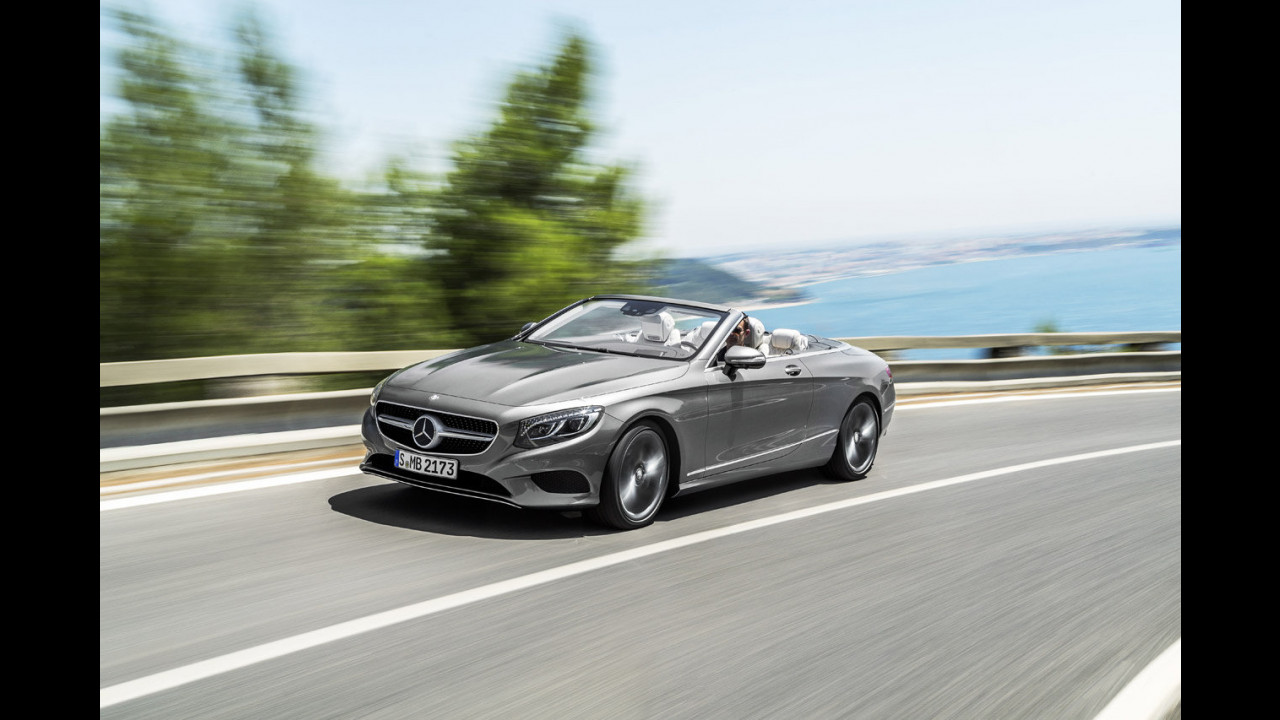 Mercedes Classe S Cabrio