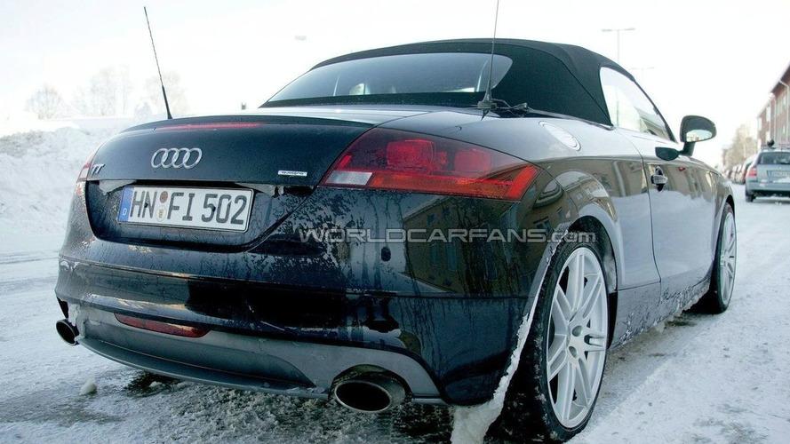 Audi TT-RS Spied Again