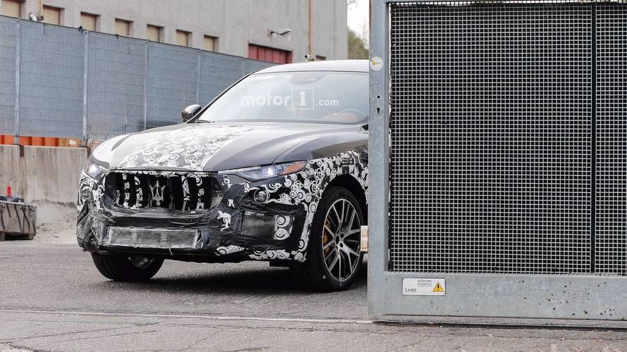 Maserati Levante GTS en photos espions