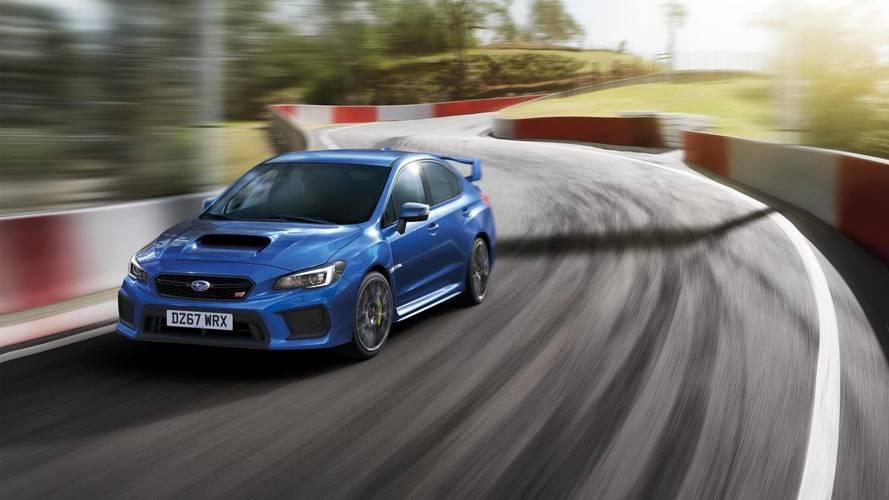 Subaru İngiltere, WRX STI Final Edition'ı tanıttı