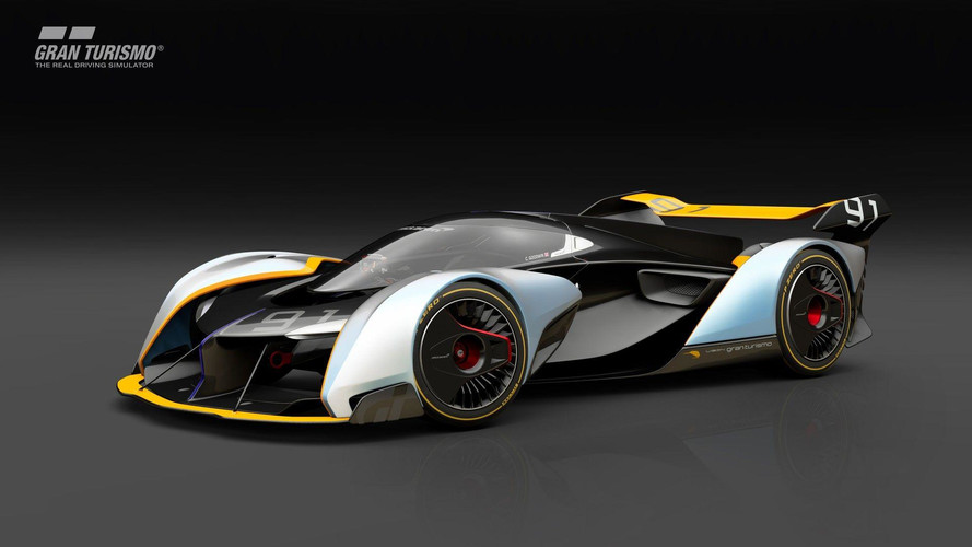 McLaren Ultimate Vision GT Unveiled For Gran Turismo Sport