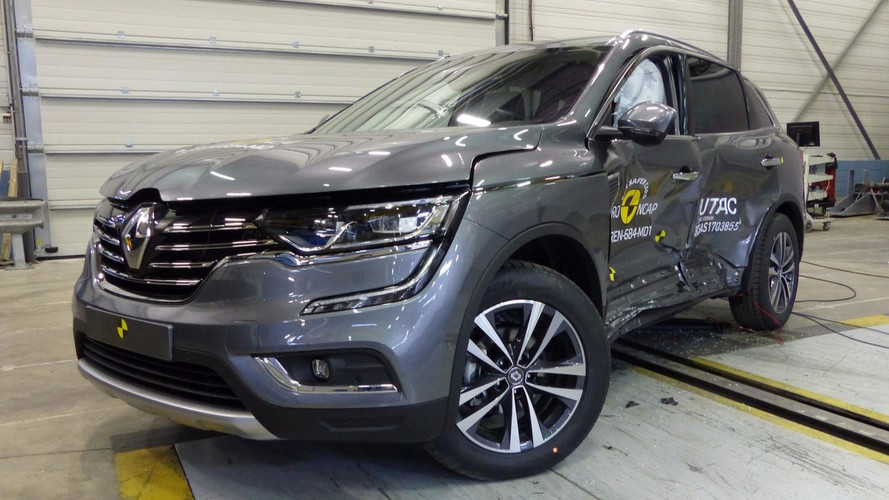 Renault Koleos crash-test