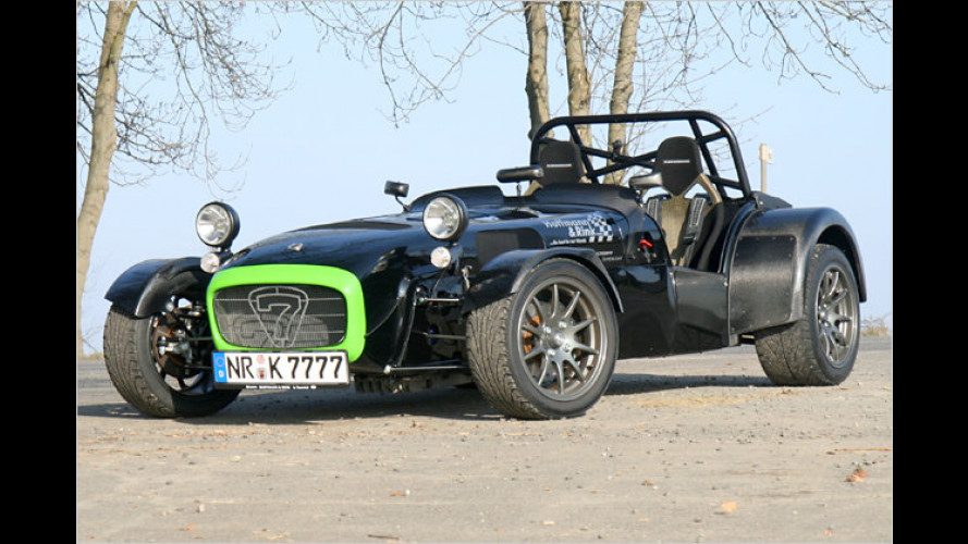 No fat Chick: Der Caterham CSR 260 Superlight