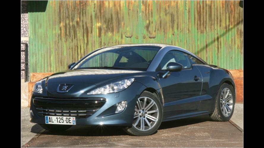 Hin und weg: Peugeots neuer Kompaktsportler RCZ