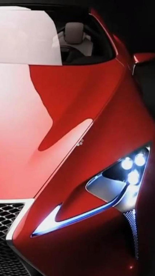 Lexus LF-LC concept - A detailed look [video]