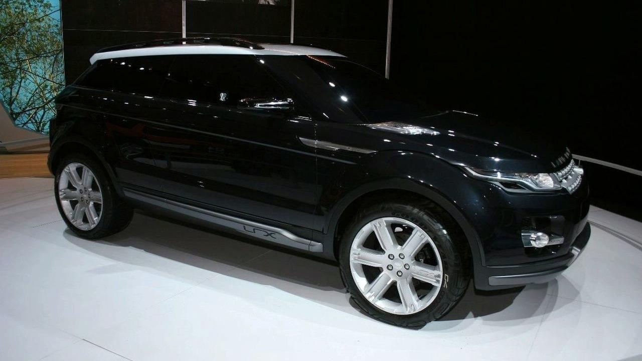 Land Rover LRX Hybrid Concept