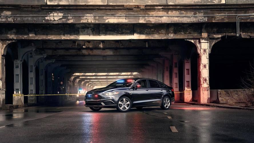 Ford Fusion - Special Service Plug-In Hybrid Sedan