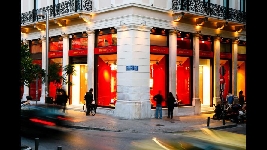 E' ad Atene il primo Ferrari Store