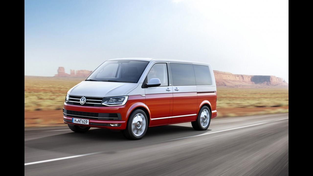 VW retoca visual e coloca mais tecnologia na T6, a sexta geração da Kombi