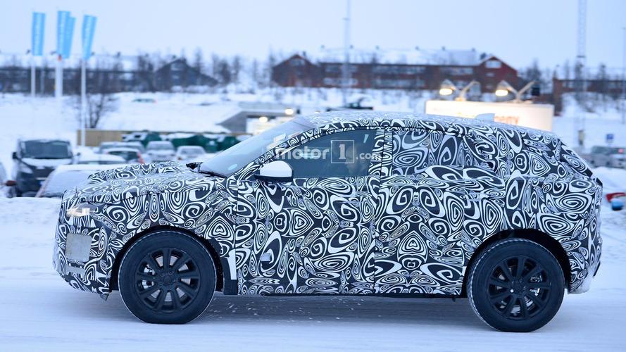 Jaguar E-Pace Spy Photos in Winter