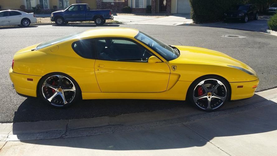 Lexus motorlu Ferrari 456M replikası BMW M240i fiyatına satıldı