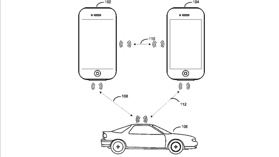 Apple patents digital key that might work in its future car