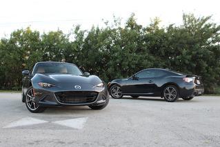 Mazda MX-5 Miata vs Subaru BRZ: Affordable Sports Car Battle