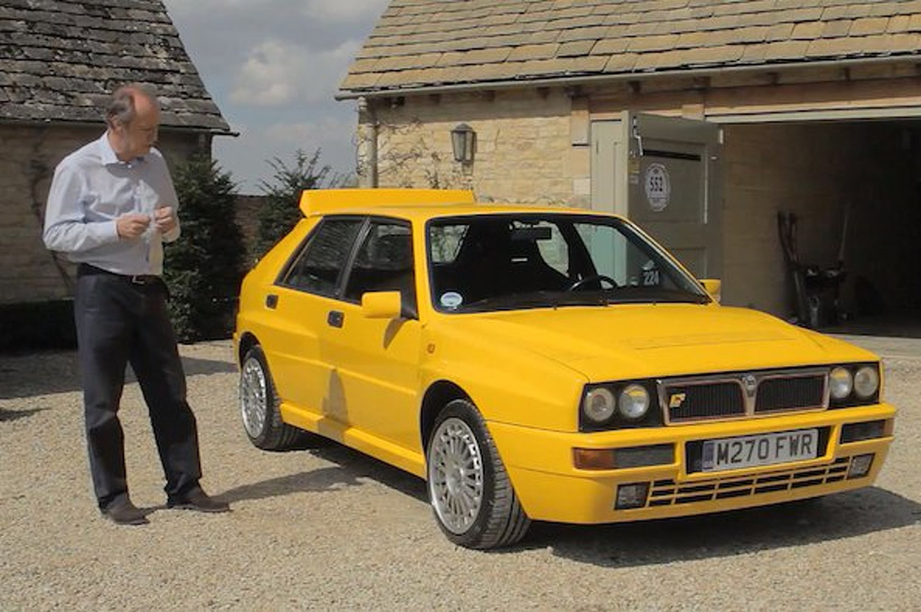 Video: Harry Metcalfe Buys a Lancia Delta Integrale, Tells Us How Awesome It Is