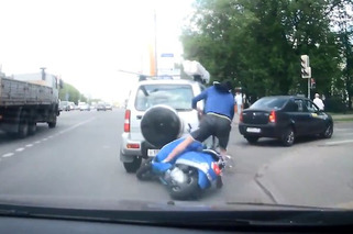 Hit and Run: Russian Scooter Edition [video]