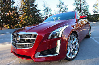 Drive Home in a New Cadillac CTS from eBay Motors
