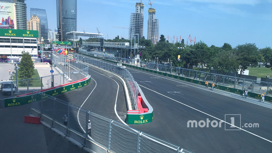 Drivers concerned about tight pit entry at Baku